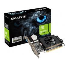 技嘉显卡GV-N710D3-1GL 实货为1G/D5、大卡、VGA DVI HDMI;三年质保