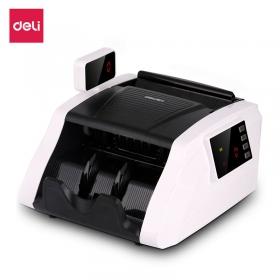 得力T800s全智能混点C类验钞机便携式小型旋转屏点钞机充电式单屏