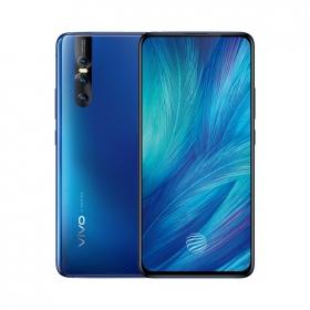 vivo X27 8GB+128GB大内存 雀羽蓝 零界全面屏AI三摄 移动联通电信全网通4G手机