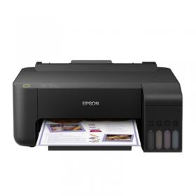 爱普生(EPSON)墨仓式 L1119 彩色喷墨打印机家用照片作业打印 小型原装连供