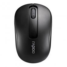 限时秒杀!雷柏M10黑色无线鼠标雷柏 Rapoo M10 笔记本 台式机电脑省电游戏待机时间长带开关低功耗无线鼠标(白色贵一元)
