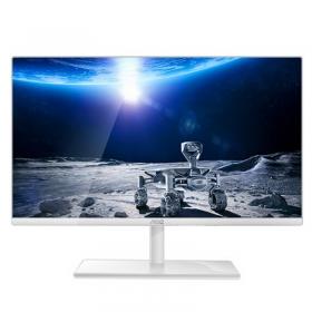 AOC显示器I2379V/WS白色 AOC I2379V/WS 23英寸IPS广视角窄边框爱眼不闪屏液晶显示器 23寸 白色
