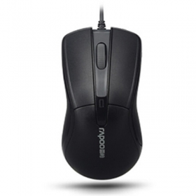 Rapoo/雷柏 N1162 有线鼠标 USB鼠标 办公鼠标 游戏鼠标 电脑鼠标 现在为M120
