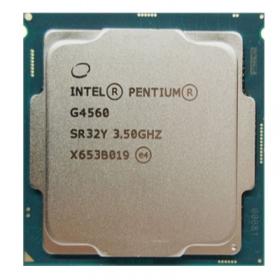 Intel/英特尔 G4560 奔腾 双核 散片CPU 3.3G LGA1151针 全新 质保三年
