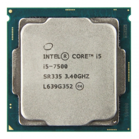 Intel/英特尔 i5 7500 CPU LGA 1151 四核处理器  散片 全新 三年质保