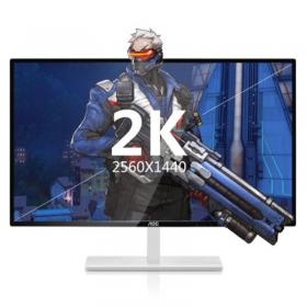 AOC Q3279VWF8/WS 31.5英寸 32 2K显示器游戏高清电竞液晶显示屏 32寸