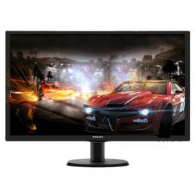 飞利浦(PHILIPS) 223V5LSB 21.5英寸TN面板 21.5寸 21.5英寸LED宽屏液晶显示器21.5寸电脑显示屏