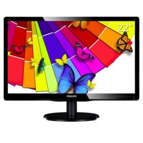 飞利浦显示器(PHILIPS)220V4LSB 22英寸LED宽屏16:10电脑显示液晶屏 22寸