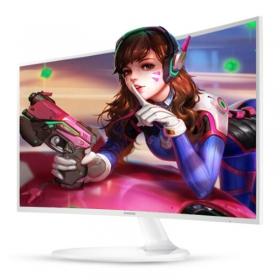 三星(SAMSUNG)C27F391FH 27英寸LED全高清白色曲面电脑液晶 显示器27