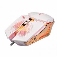 蝰蛇 G5 守望先锋发光自定义宏加重笔记本外接台式电脑 LOL CF专业电竞游戏鼠标有线