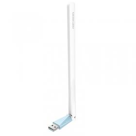 水星(MERCURY) MW150UH(免驱版) 150M高增益无线USB网卡 无线网卡