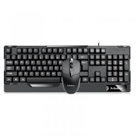 蝰蛇KM510键鼠套装U+U字符采用高清UV覆膜字符工艺设计按键采用严密贴合指型设计,触感极为舒适鼠标舒适度极高,适合办公用