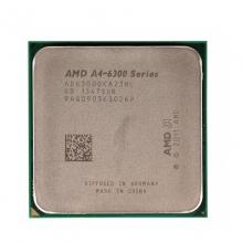【质保三年】     AMD A4 6300 3.7GHz 双核 904针 台式机电脑CPU散片 全新