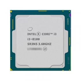 【质保三年】Intel/英特尔 I3 8100 四核散片CPU  I3 8100    散片8代  现货