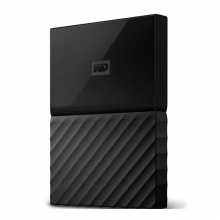 【正品行货 假一罚十】西数2T移动硬盘     西部数据(WD)My Passport 2TB 2.5英寸 经典黑 移动硬盘 WDBYNN0010BBK 加密版移动硬盘