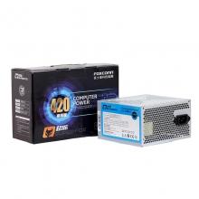富士康台系电源 超狐420 额定250W 宽幅静音 三年换新
