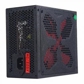 富士康台系电源 超狐600  额定500W  宽幅静音 三年换新