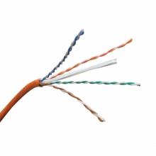 【正品行货 假一赔十】DS-1LN6-UE 六类非屏蔽室内网线  有白色红色 海康威视(HIKVISION)  六类网线 非屏蔽室内外 六类非屏蔽(线经0.56mm)海康网线 控网线无氧铜 千兆高速网络非屏蔽双绞线 千兆线