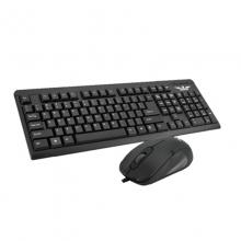 奇人 R670 娱乐办公有线键鼠套装 台式机笔记本电脑键盘鼠标