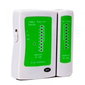 多功能网络测试仪宽带线检测工具电话线网线测线仪器不带电池