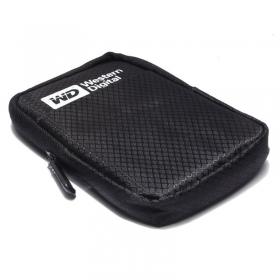 特价WD/西部数据 2.5寸移动硬盘包 便携式 拉链 硬盘防震防摔包 一个不送货利润低
