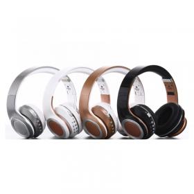 Metal     FE-019蓝牙插卡耳机传输范围10米以内蓝牙耳机插卡FM超长待机30小时