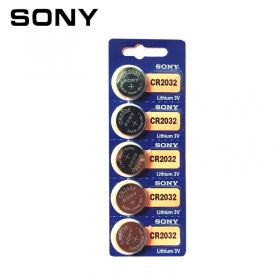 SONY 索尼 CR2032 圆形纽扣电池 一板5个