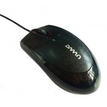 貂王DM108磨砂电脑有线鼠标USB台式机笔记本游戏商务办公鼠标