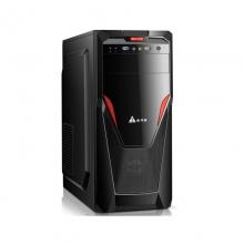 金河田机箱启源6办公商务游戏台式电脑机箱前置带USB3.0