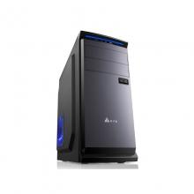 金河田预见A2商务电脑主机箱台式机箱ATX背线USB3.0游戏箱