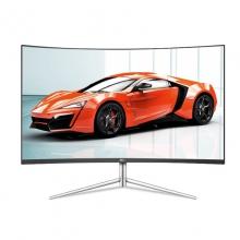 AOC C27V1Q/WS 27英寸曲屏高清电脑液晶显示屏台式壁挂屏幕HDMI  27寸 白色曲面