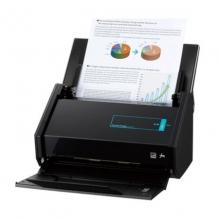 富士通iX500 A4彩色高速双面扫描仪A3幅面高清照片文档合同 身份证 快递单扫描 自动一键生成PDF WIFI连接