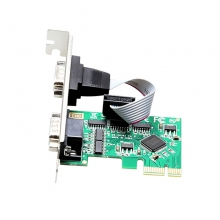 京华 PCI-E串口卡 插口台式电脑主机内置机箱网线独立网卡 特价