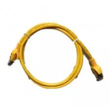 网络跳线成品黄色灰色8芯短网线带水晶头网线
