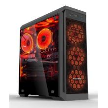 【组装机】AMD锐龙1600 四核3.5G处理器/微星B350主板/华硕8G2400内存/华硕128G固态硬盘/蓝宝石550 4G独立显卡 长城侧透机箱 长城静音电源