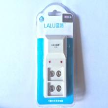 蓝路正品 9V数码宝(单只吸塑装)| 快速充 便携 方形电池充电器
