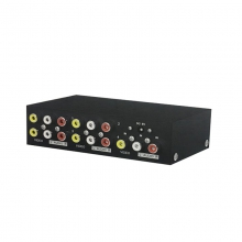 欧比-104AV音视频一拖四分配器