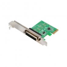 PCI-E并口卡pcie接打印机25孔转换卡并口扩展卡