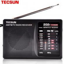 Tecsun/德生 R-202T收音机迷你便携四六级考试老年人学生校园广播