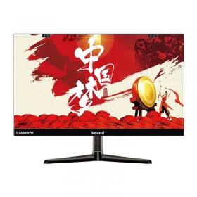 IF2488WPH  24寸IPS超薄无边框 方正液晶多媒体荣誉出品  支持壁挂  HDMI+vga 显示器,23.8寸 23.6寸 24英寸显示器