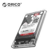 奥睿科(ORICO)移动硬盘盒 2139U3  2.5英寸 USB3.0硬盘盒  笔记本硬盘外置壳固态机械ssd硬盘盒子 CEO 塑料款