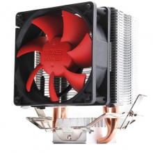超频三(PCCOOLER)红海mini cpu散热器(cpu风扇8cm/配散热硅脂)红海迷你增强双扇