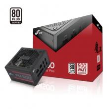 全汉(FSP)额定500W 魔王FM500电源(五年质保/全模组/80Plus白牌认证/独特S型通风口设计