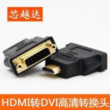 芯越达 HDMI转DVI高清转换头