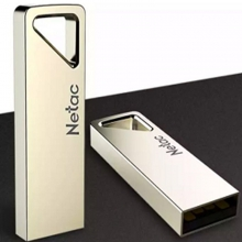 朗科(Netac)16GB USB2.0 U盘 U326 珍珠镍色 全盘加密金属防水迷你型车载U盘