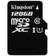 「记录仪专用卡」金士顿(Kingston)TFclass10高速卡 存储卡 内存卡 升级版 连续拍摄更流畅 终身保固128G