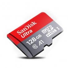 「监控专用卡」闪迪 TF(MicroSD)存储卡class10高速 手机监控摄像头行车记录专用内存卡 闪迪128G高速卡