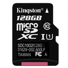 金士顿(Kingston)128GB TF(Micro SD) 存储卡 80M  连续拍摄更流畅 正品 代理货五年质保 全套带包装