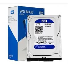 全新 WD/西数 1TB 7200转 64MB 西部数据 台式机电脑硬盘 西数蓝盘  SATA3(WD10EZEX) 蓝盘 sata3  1t机械盘 3.5英寸