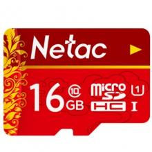朗科 中国红 16g 内存卡高速tf卡闪存储卡行车记录仪专用sd卡 16g 手机内存卡